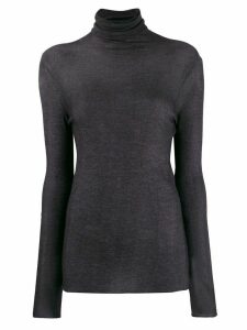 Avant Toi turtle neck top - PURPLE