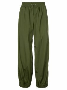 Monse side buttoned trousers - Green