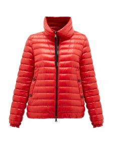 Moncler - Down-filled Lightweight Nylon Jacket - Womens - Red