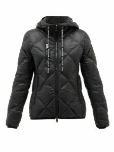Moncler - Oulx Diamond-quilted Nylon Jacket - Womens - Black