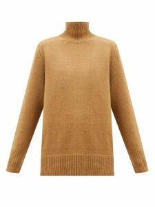 The Row - Sadel Roll-neck Cashmere Sweater - Womens - Camel