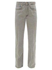 Raey - Push Straight-leg Boyfriend Jeans - Womens - Light Grey