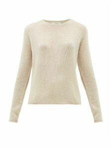 The Row - Imani Striped Cashmere Sweater - Womens - Beige