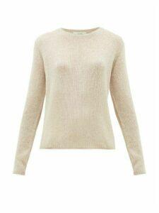 The Row - Imani Striped Cashmere Sweater - Womens - Beige