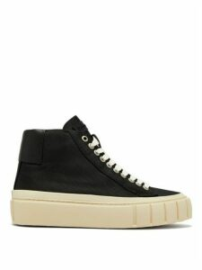 Primury - Dyo Canvas High-top Trainers - Womens - Black