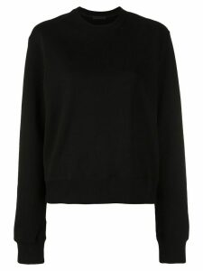 WARDROBE. NYC Release 02 crew neck sweatshirt - Black