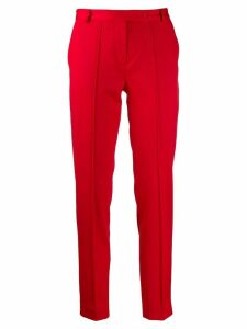 Styland slim fit trousers - Red