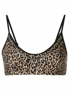 The Upside leopard print top - Brown