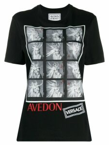 Versace Richard Avedon test print T-shirt - Black