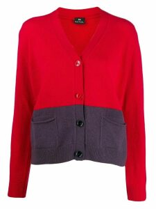 PS Paul Smith button up cardigan - Red