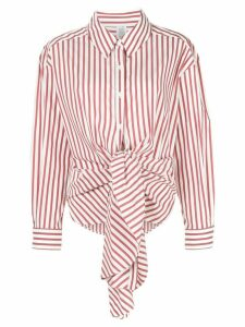 Rosie Assoulin knot style shirt - Red