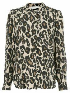 DVF Diane von Furstenberg Mariah shirt - Brown