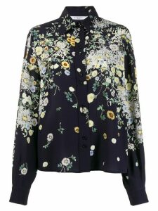 Givenchy floral print shirt - Blue