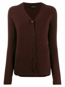 Joseph cashmere buttoned cardigan - Red