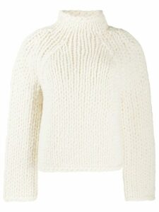 Vince chunky-knit jumper - NEUTRALS