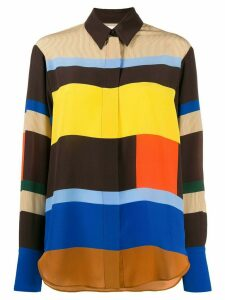 Chinti and Parker striped shirt - Brown