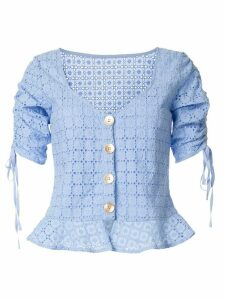 We Are Kindred Vienna crochet blouse - Blue