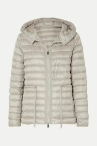 Moncler - Hooded Quilted Shell Down Jacket - Beige