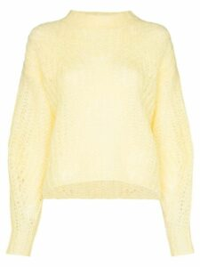 Isabel Marant Inko knit jumper - Yellow