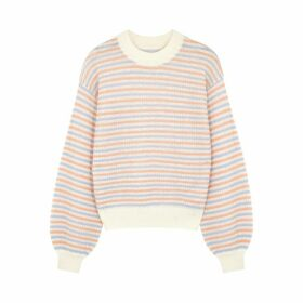 Samsøe & Samsøe Meejin Striped Crew-neck Jumper