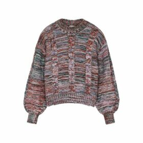 Stine Goya Gio Textured-knit Jumper