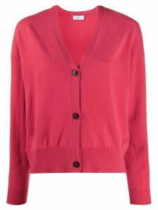 Closed v-neck knit cardigan - PINK