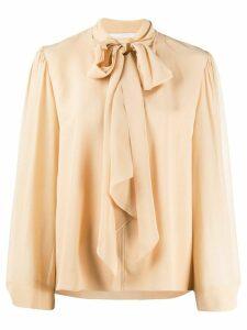 Chloé pussy bow blouse - NEUTRALS