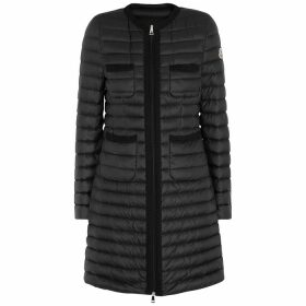 Moncler Black Quilted Shell Jacket