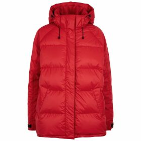 Canada Goose Approach Red Quilted Shell Jacket