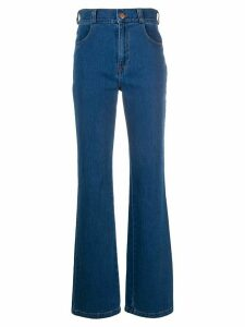 See By Chloé high-waisted bootcut jeans - Blue