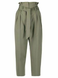 IRO tie-waist trousers - Green