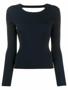 P.A.R.O.S.H. Regina fitted jumper - Blue