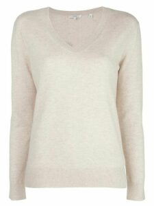 Vince Weekend v-neck jumper - NEUTRALS