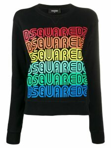 Dsquared2 repeated logo sweatshirt - Black