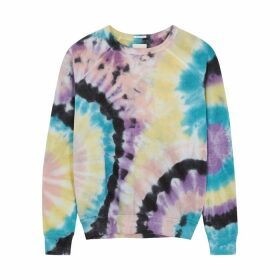 Mother Hugger Tie-dye Jersey Sweatshirt