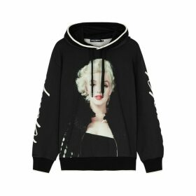 Dolce & Gabbana Marilyn Monroe Hooded Cotton Sweatshirt