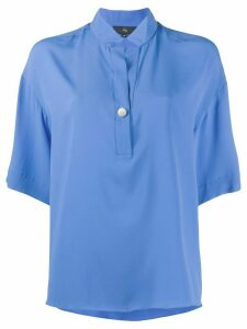 Fay short sleeve loose fit shirt - Blue