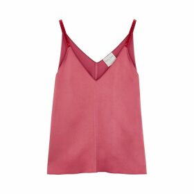 Forte forte Pink Satin Top