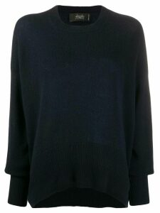 Maison Flaneur cashmere relaxed fit jumper - Blue