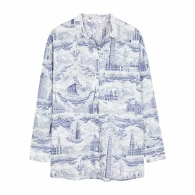 Samsøe & Samsøe Loraine Printed Cotton Shirt