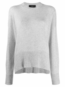 Maison Flaneur cashmere long sleeve jumper - Grey