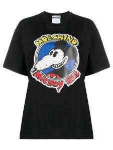 Moschino Mickey Rat print T-shirt - Black
