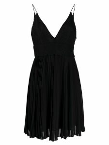 Givenchy lace pleated dress - Black