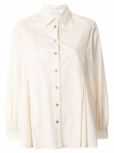 Nobody Denim Origami pleated shirt - White