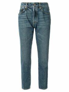 Golden Goose cropped straight-leg jeans - Blue