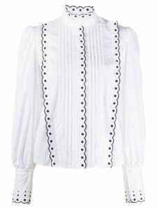 See By Chloé scalloped trim blouse - White