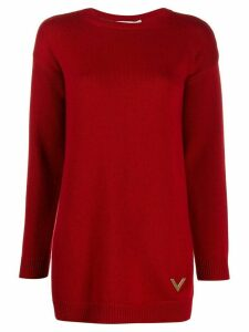 Valentino VGOLD cashmere jumper - Red