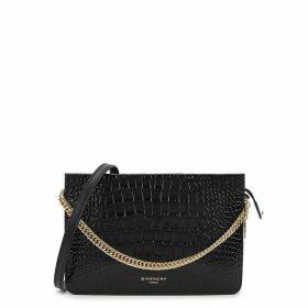 Givenchy Cross3 Crocodile-effect Cross-body Bag
