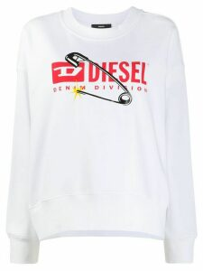 Diesel Denim Division sweatshirt - White