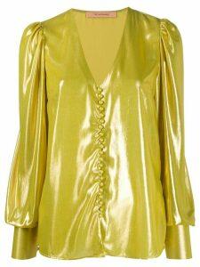 Andamane Cecilia metallic blouse - GOLD